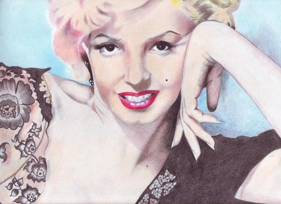 Marilyn Monroe par naimos-dz